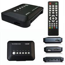 HD 1080P USB Hard Drive Upscaling Multi Media Player MKV AVI RMVB Excellent ABC