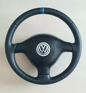 VW Golf 4  Bora Passat Lenkrad + NEU BEZOGEN