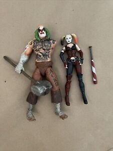 DC Collectibles MR. HAMMER and HARLEY QUINN Batman Arkham City 2pk Loose Complet