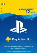 Abbonamento Playstation Plus 12 Mesi
