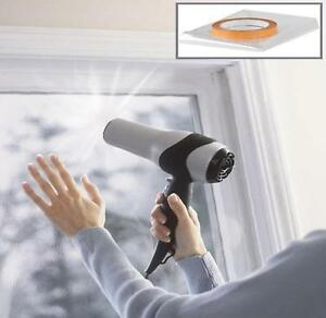 Double Glazing Film, Window Insulation Shrink Film. Draught Excluder 12m2
