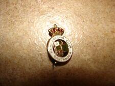 Vintage brooche Real Racing Club Santader Soccer Pin Badge