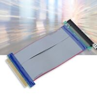 High Speed PCI-Express 16X Flexible Cable Wire Extension Port Riser Card Adapter