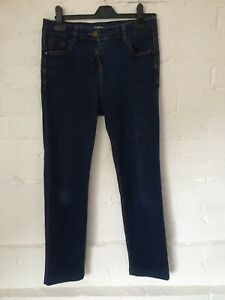 Ladies Tu Denim Distressed Blue Jeans Size 10s