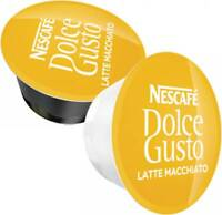 Nescafe Dolce Gusto Pods  LATTE milk and coffee pods 20,40,60,80,100 Capsules