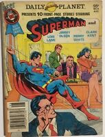 BEST OF DC SPECIAL BLUE RIBBON COMICS DIGEST #6 (1980) Superman VG+