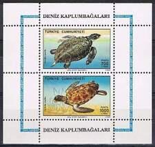 Turkije postfris 1989 MNH block 28 - Schildpad / Turtle (S0075)