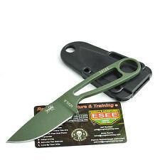 ESEE Izula OD Green Powder Coated 1095 Survival Camp Knife Izula-OD