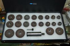 SIOUX VALVE SEAT GRINDING WHEELS SET OF 20 PCS + STONE HOLDER STAR DRIVE 11/16""