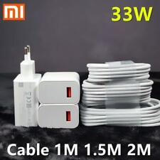 Xiaomi Charger 33w Original Fast Charger Turbo Charge For Xiaomi 10 Redmi K30
