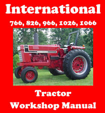 INTERNATIONAL 766 826 966 1026 1066 TRACTOR WORKSHOP MANUAL DIGITAL DOWNLOAD