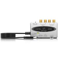 BEHRINGER U-CONTROL UCA202 16-bit/48kHz 2-Channel USB/Audio Interface + Warranty