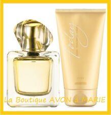 LOT EAU de parfum TODAY 50ml+ Lait de Corps 150ml de chez AVON neuf
