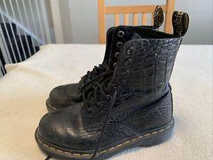 Women's Dr. Martin DM Pascal Croc Boots Size Uk 3