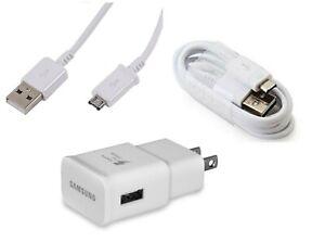Samsung OEM Fast Adapter + Micro USB FOR Samsung Galaxy TAB E LITE 7.0 (SM-T113)
