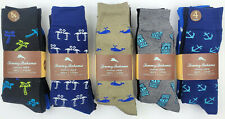 Tommy Bahama Casual Crew 4 Pairs Socks One Size palm vibes flamingo love whale