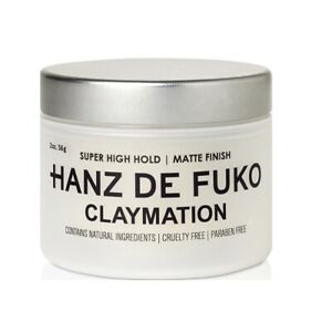 Hanz De Fuko Claymation 56gr Super High Hold/Matte Finish Sculpting/Styling Clay