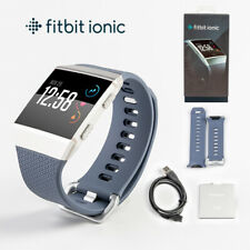New Fitbit Ionic Watch Fitness Workout Tracker Sports Watch w/ S & L Wristband