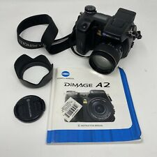 Konica Minolta DiMAGE A2 8.0MP Digital Camera - Black