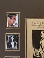 9 x vintage James Dean stamps KYRGYZSTAN Mounted