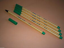5 Stk. Stabilo Point 88 Fineliner 88/36 grün Filzstift Filzschreiber Fein NEU