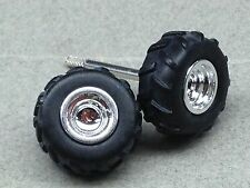 1/64 ERTL TRUCK PULLING WHEELS/TIRES/AXLE