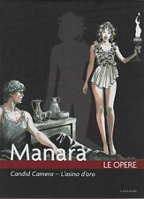 milo manara CANDID CAMERA - L' ASINO D' ORO  le opere volume 13 vol XIII apuleio