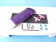 Gator wooden fingerboard compatible with all tech decks toy PurplepinkLBlue