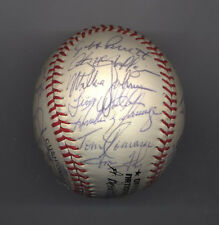 1987 MONTREAL EXPOS Autographed Team Baseball BALL 31 Autographs