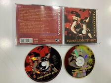 MADONNA 2 CD SOME LIKE IT HOT LIVE BLONDE AMBITION TOUR 91  KTS