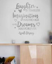 Laughter is Timeless Disney Wall Sticker Wall Chick Decal Art Sticker Quote