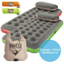"Pavillo™ 67619 Luftbett mit Kissenpumpe ""Roll & Relax"" Single XL 188 x 99 x 22cm"