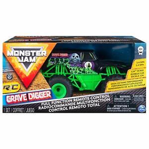 Monster Jam Telecomando Grave Escavatore 1:24 Scala Monster Truck Nuovo