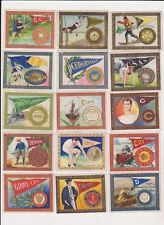 SET BREAK 1910 MURAD COLLEGE~ PICK ONE/MORE CARDS NICE COLOR CLEAN MANY LISTED