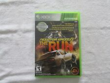 Need For Speed The Run Microsoft Xbox 360 Console Racing Game Tested Works