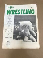 Wrestling Program NWA Tampa December 3, 1974 Gary Hart