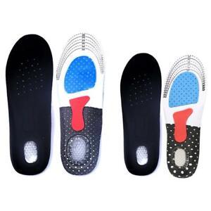 Hommes Gel Orthotic Sport Running Insoles Insérer des chaussures Coussins d
