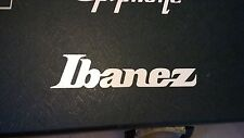 Ibanez Decal Logo Sticker for Guitar Hard Case, Amp Cab, Wall Art, Window, Car