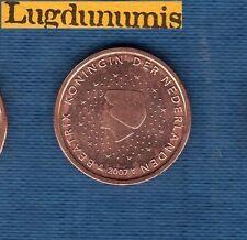 Pays Bas 2007 - 2 centimes d'Euro - Pièce neuve de rouleau - Netherlands