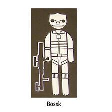 Star Wars Decal: Bossk (60 x 130 mm)