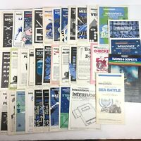 Huge Lot of 35 Intellivision - Instruction Manuals Only