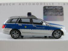 """Busch 43669 MB C-Klasse T-Modell (2007) """"Stadtpolizei Karben"""" 1:87/H0 NEU/OVP"""