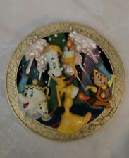 """Beauty and the Beast """"Be Our Guest"""" Limited Edition Plate"""