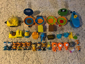 Lot Octonauts Figures Vehicles Accessories