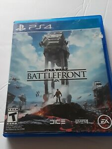 Star Wars: Battlefront PS4 (PlayStation 4, 2015) EA - FREE DOMESTIC SHIPPING