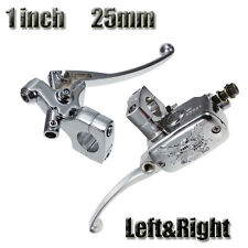 "Universal 1"" inch 25mm Left Right Motorcycle Brake Master Cylinder Clutch Lever"