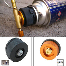 New Camp Burner Cartridge Gas Fuel Canister Stove Cans Tank Adapter Converter PO