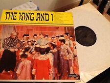THE KING AND I VINYL LP .  FULL STAGE CAST . 1964 .  Excellent + Vinyl Album