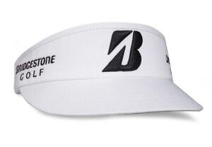 Bridgestone Tour High Crown Golf Visor - White