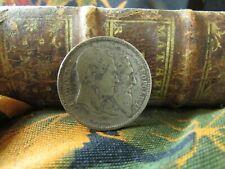 piece monnaie 2 francs belge 1880 argent